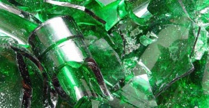 Отпадъци от стъкло