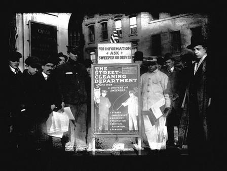 Кризата с боклука в Ню Йорк през 1918 г.